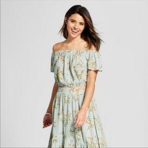 Xhilaration Skirts - Hi-love floral skirt